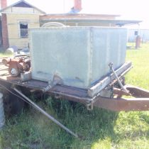 denyer tank on trailer